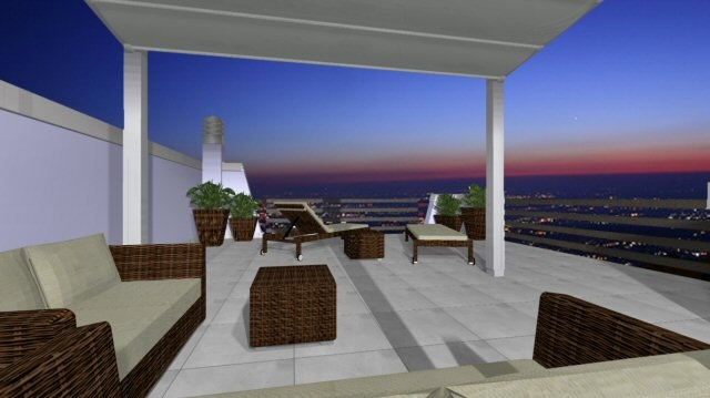 In this terrace with breathtaking views the Pergotenda Corradi Millenium fits perfectly with the modern architecture of the house. A clear example of how outdoor spaces can be furnish with convenience and taste. For more information on how to achieve great outdoors visit:    http://www.corradi.eu/pages/standard.aspx?id=56    Or our web page dedicated to the outside:    http://www.padovani.it/shop/projects.aspx?ID=5