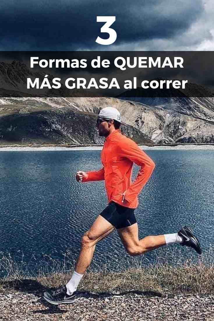 Correr ayuda a bajar de peso mas rapido que