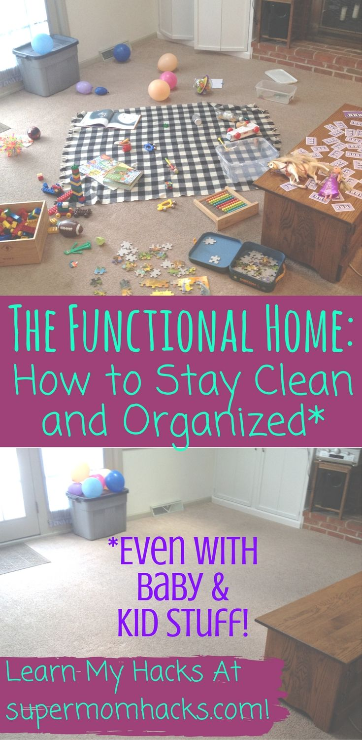 These Tricks Will Help You Keep Your Home Organized And Functional Even With Kids Their Stuff Around How To Tame Children S Clutter In Every Room