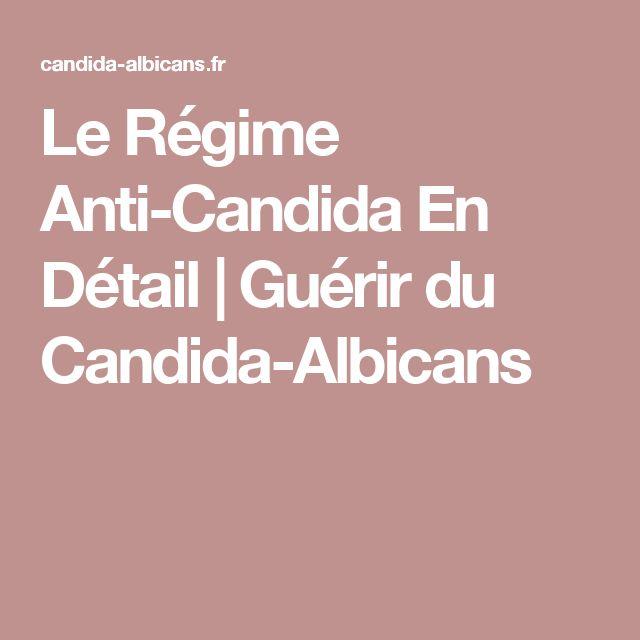 Le Régime Anti-Candida En Détail   Guérir du Candida-Albicans