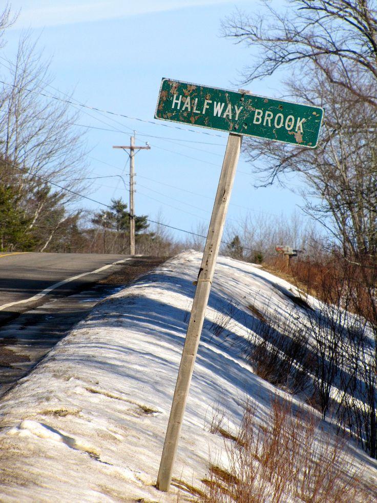 Halfway Brook near Middle Stewiacke, Nova Scotia. (Photo by Marianne Lohnes) www.therusticsoul.tumblr.com