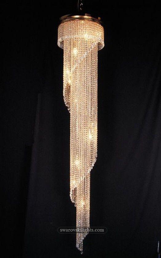 387025_Staircase Crystal Chandeliers_Zhongshan Sunwe Lighting Co.,Ltd. We…