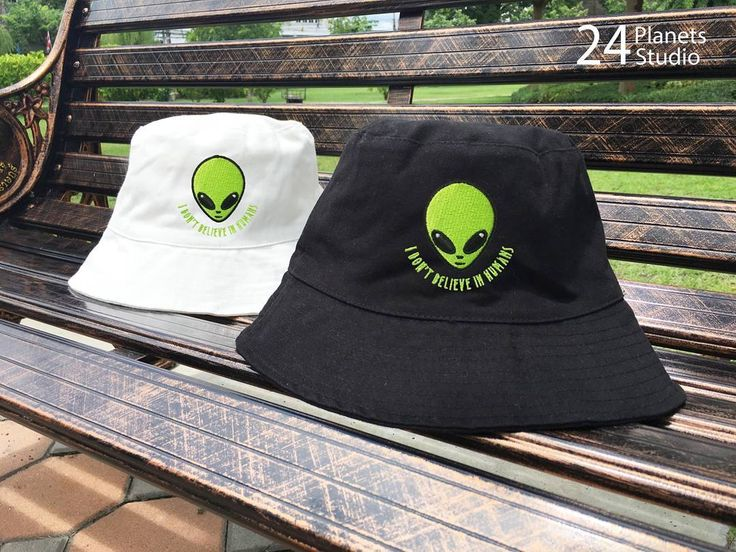 Alien Head I need my space Embroidered Bucket Hat by 24 Planets Studio #24PlanetsStudio  #hipster #nerd #Geek #indie #travel #holiday #shopping #buckethat #hat #etsy #etsyseller #girl  #girls #vacation #cute #eye #alien #ufo #nasa #gift #gifts #universal #astro #cosmic #differencemakesus