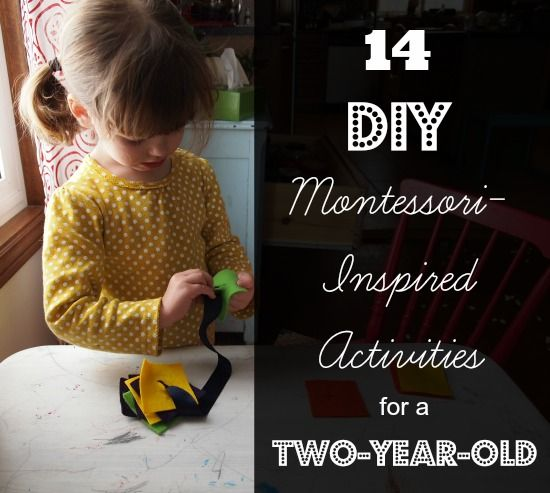 14 DIY Montessori-Inspired Activities for a Two-Year-Old