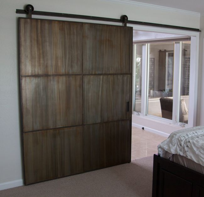61 best images about sliding doors and room dividers on for Metal barn doors