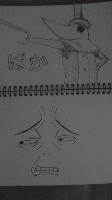 Excalibur (soul eater) my sketch book is not happy with this
