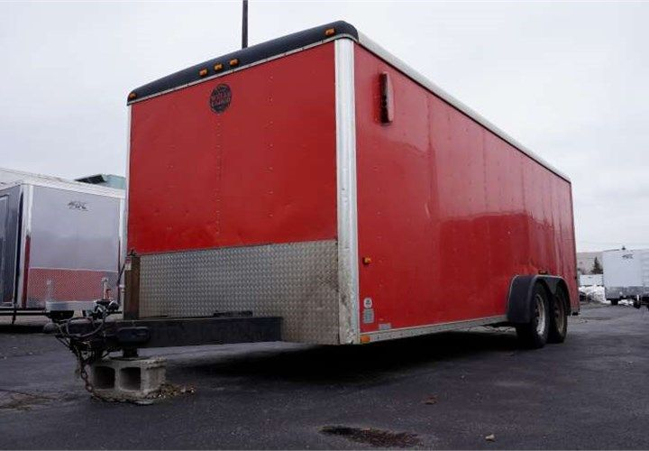 Used 1997 7 X 20 Wells Cargo Landscape Trailer This Trailer Was Outfitted With Flow Thru Vent System 6 Interior 3 500 Lb Landscape Trailers Cargo Trailer
