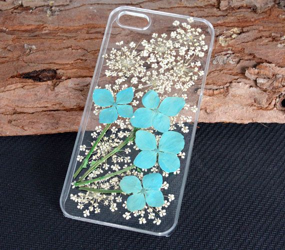 Floral iPhone 5 CasePressed Real flower iPhone by UUniquecase