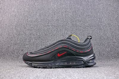 Kappa X Nike Air Max 97 Black University Red  802fe249b0e