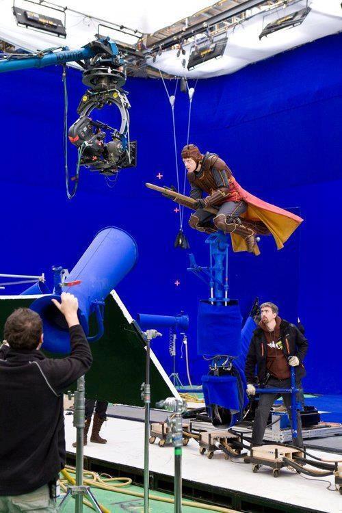 Making of Harry Potter Scene