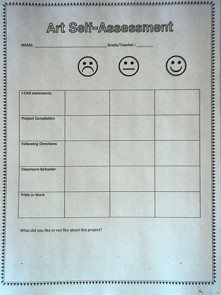 9 best Pupil self-assessment images on Pinterest | Student ...