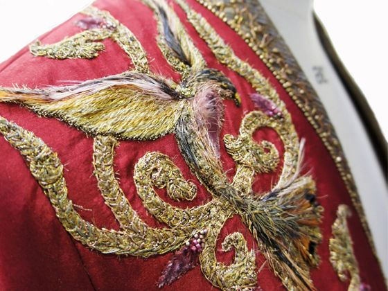 Costume Embroidery & Illustration by Michele Carragher for Film & TV - How I Create an Embroidery