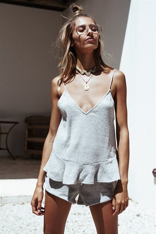Madison Knitted Shorts #SaboSkirt