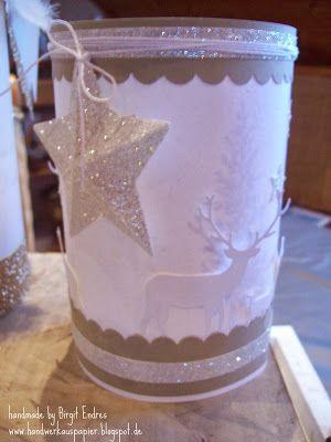 HandWerk aus Papier - Weihnachtliches Windlicht (sooo schön)