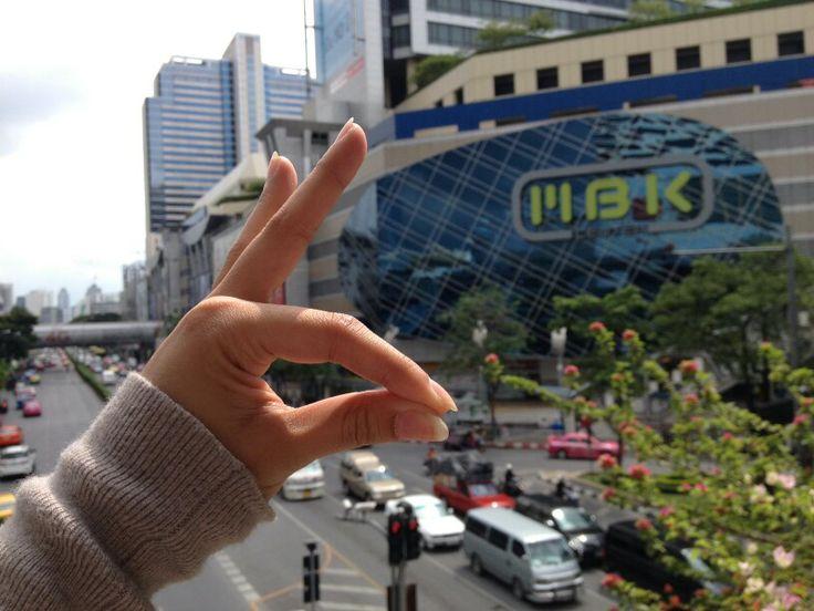 Humpz at MBK ,Bangkok,Thailand.                          ● cr Photo by my friend ●
