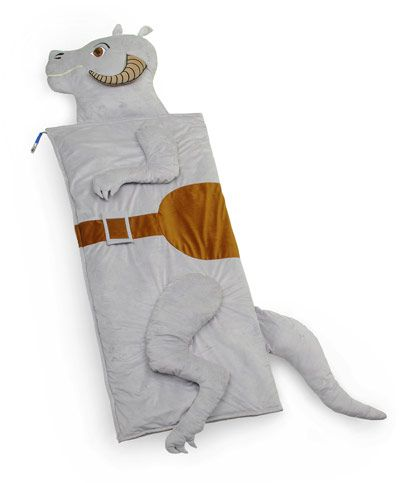 ThinkGeek :: Star Wars Tauntaun Sleeping Bag. And I thought they smelled bad on the outside.