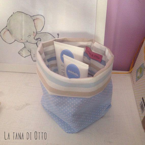 Baby Bin, Baby Fabric Bin, Baby Basket, Baby Organizer, Nursery Bin, Nursery Organizer, Fabric Basket, Fabric Bin, Fabric Organizer