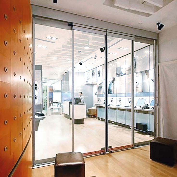 Automatic Sliding Glass Doors: 23 Best Storefront Glass & Doors Images On Pinterest
