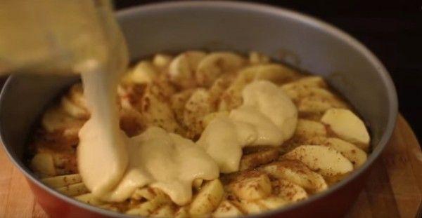 Δείτε μια μοναδική συνταγή για τέλεια μηλόπιτα!