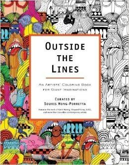 Outside The Lines An Artists Coloring Book For Giant Imaginations Pa Piccolini NYC