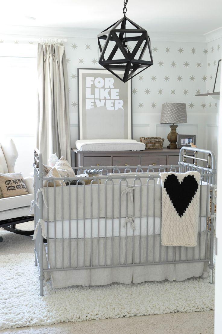 Grey and Beige nursery