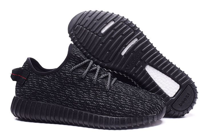 Adidas 350 Kanye West Yeezy Men Woman Running Shoes black