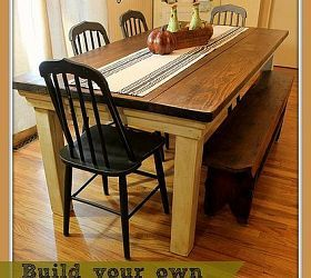 How to Build Your Own FarmHouse Table for Under $100 DIY