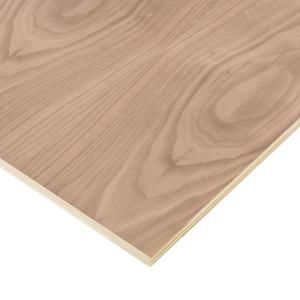 Project Panels, Walnut Plywood (Price Varies by Size), 1765 at The Home Depot - Mobile