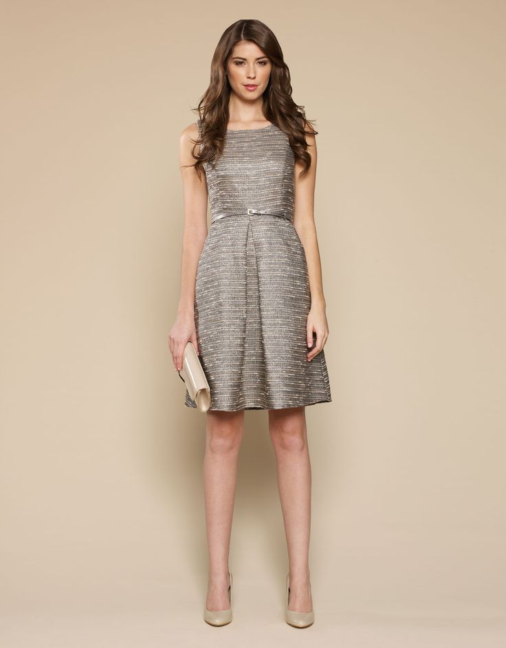 Bronze dress!