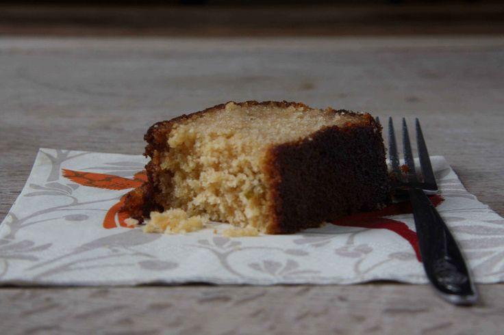Soaked marmalade loaf cake