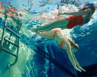 Samantha French, Dive in Float