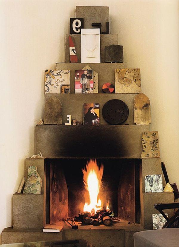 les 25 meilleures id es de la cat gorie chemin e d corative sur pinterest d cor de chambre. Black Bedroom Furniture Sets. Home Design Ideas