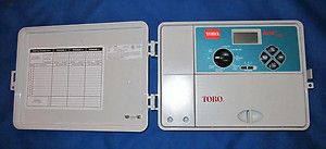 TORO ECx 53698 Automatic Outdoor Sprinkler Timer 6 Zone Expands to 12 Zones