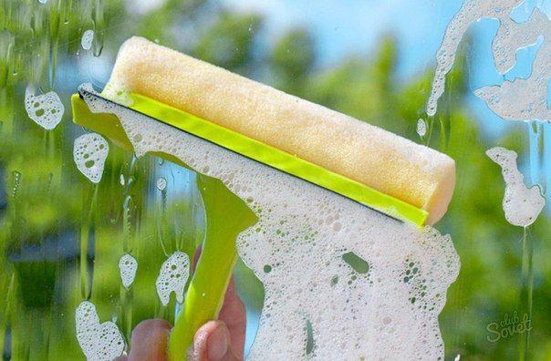 Как мыть окна правильно и без разводов? / X-Style