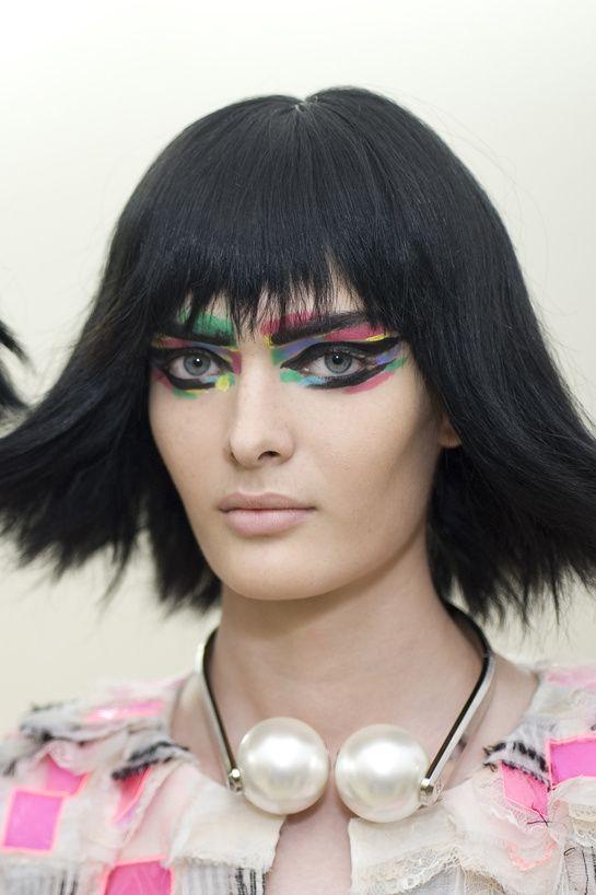 makeup @ Chanel Spring 2014
