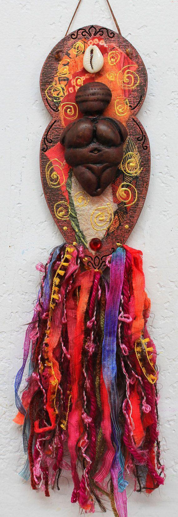 Willendorf Goddess Venus of Willendorf Goddess by LoriFelixArtwork