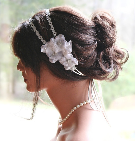 Headbands For Wedding Hairstyle: 55 Best Images About Classic Bridal Look On Pinterest