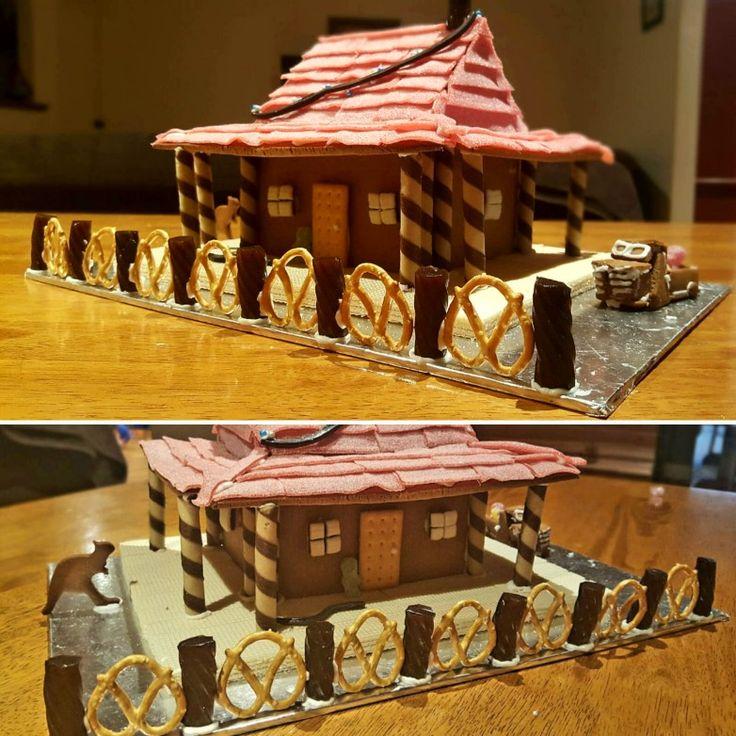 Australian gingerbread house homestead #aussiechristmas