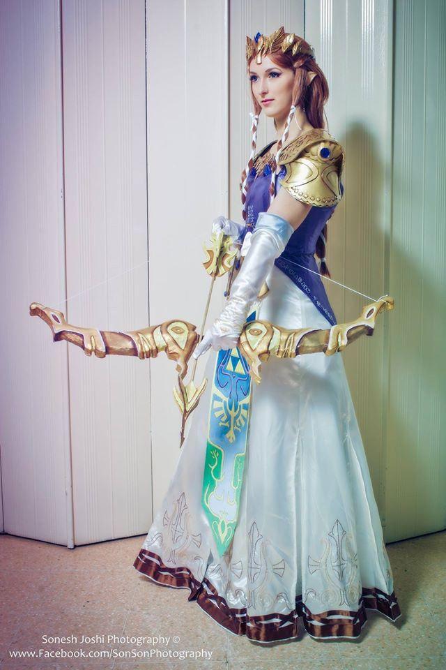 Twilight Princess Zelda cosplay!