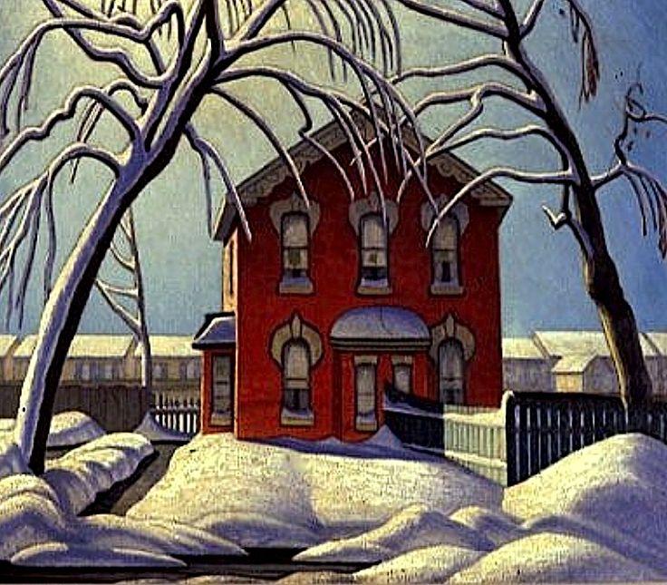 Lawren Harris, The Red House