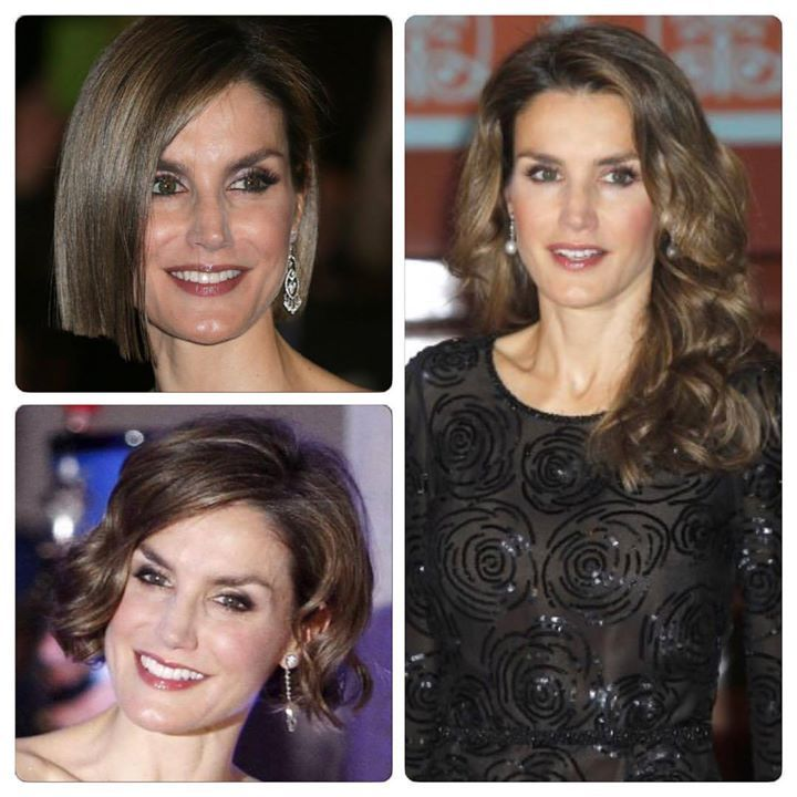 Letizia and her hair changes, which are you staying with?