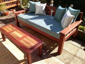 'Hightop' Daybed. 605.00 Illusive Wood Designs