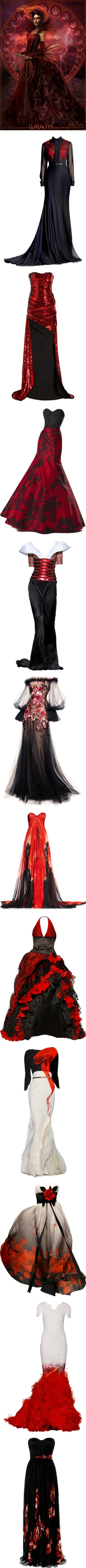 """""""wrath"""" by magical-owl ❤ liked on Polyvore"""