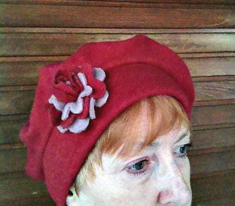Hat made of fleece