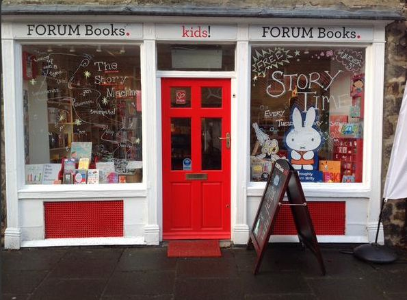 Forum Books Kids, Corbridge, Northumberland.