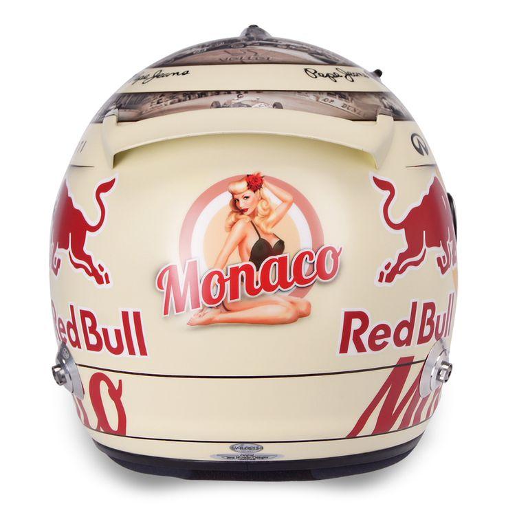 Vettel (Monaco 2013) - back