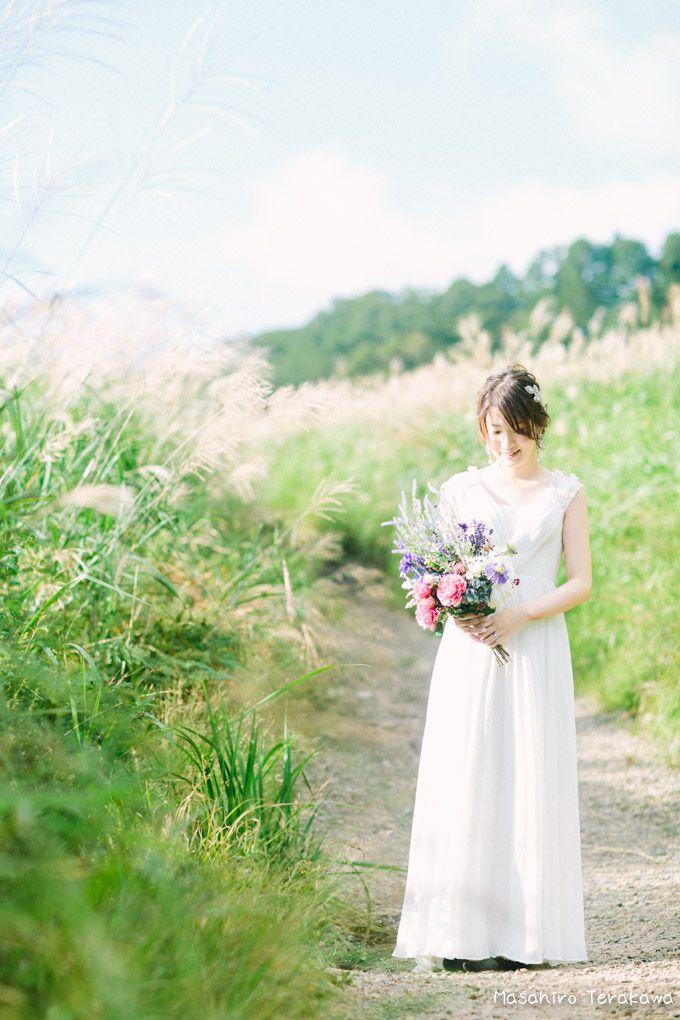大自然の前撮り(ウェディングフォト) | 結婚式の写真撮影 ウェディングカメラマン寺川昌宏(ブライダルフォト)
