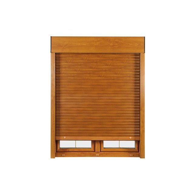 Volets roulants / en PVC / pour fenêtres / à isolation thermique drutex