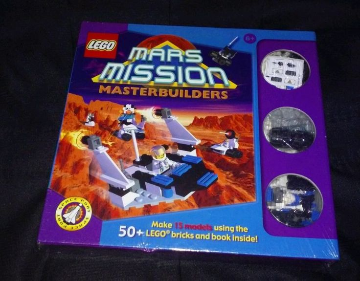 Lego Mars Mission Master Builders Game Set New Sealed #LEGO