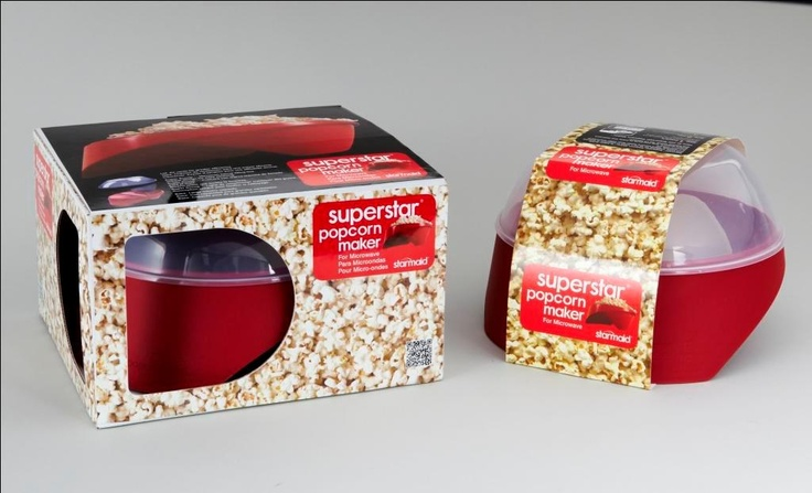 Superstar Popcorn Maker -   Superstar Popcorn Maker    Make 12 ½ cups of popcorn in 2 ½ minutes – all you need to do is prepare, pop and party